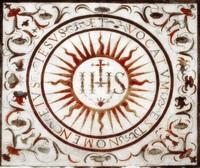 Знак ордена иезуитов