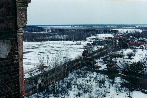Вид с колокольни, 2003 год