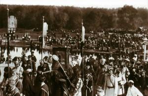 На торжествах прославления прп. Серафима Саровского